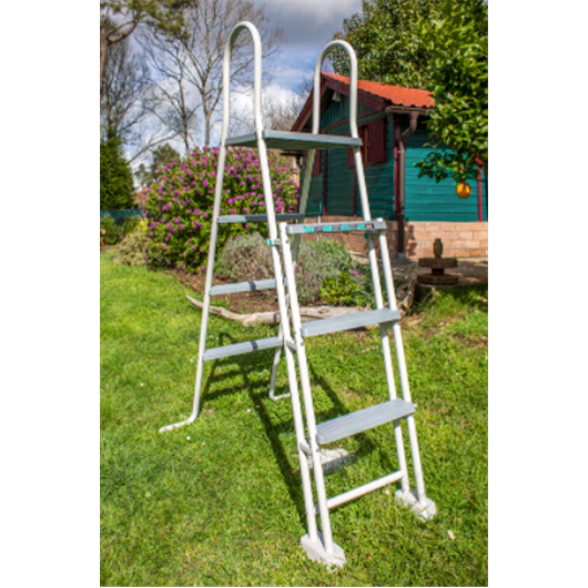 Comprar piscina redonda 3 5 m 1 32 m aspecto rattan for Piscina redonda grande