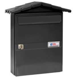 Buzon Exterior Btv Acero Negro Chalet 02111
