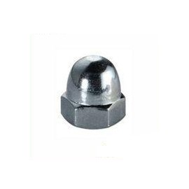 25 unidades DIN 1587 M16 Tuerca de sombrerete galvanizada