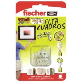 Colgador Cuadros Blanco Fischer 8 Pz