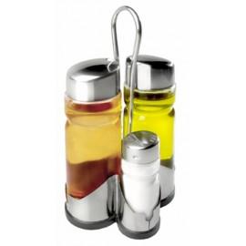 Vinagrera Cocina Aceitera Cristal/Inox Ibili