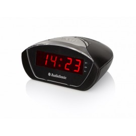 Reloj Despertador Digital Audiosonic Negro
