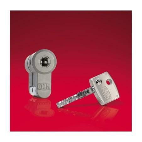Cilindro Seguridad  30X40Mm Diamant Niquel Leva Larga Dom