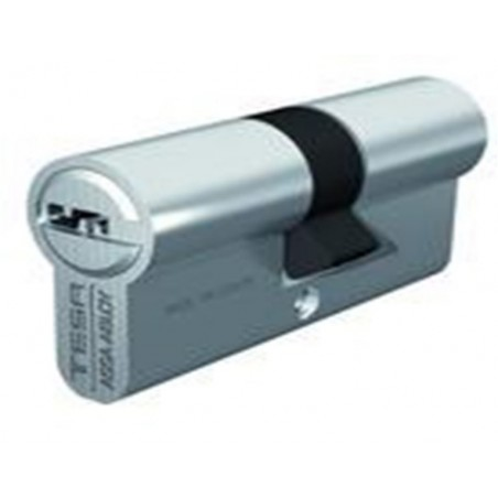 Cilindro Seguridad  32X32Mm T60 Laton Corona 14D Cent. Tesa