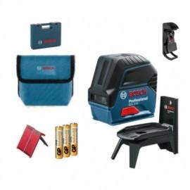 Nivel Medicion  Laser Hasta 15Mt Poroteccion Cruzada Gcl 2-15 + Rm1  Bosch