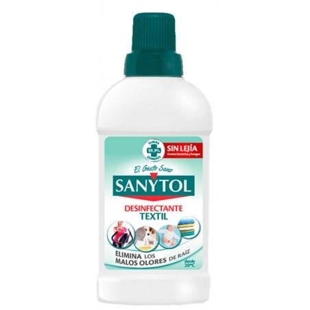 Limpiador Desinfeccion Textil Sanytol 0,5 Lt
