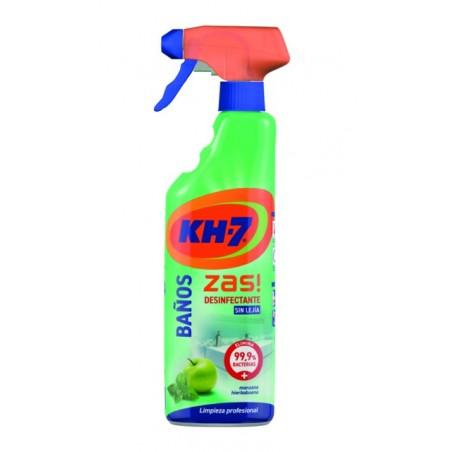 Limpiador Desinfeccion Baños Zas! 750 Ml