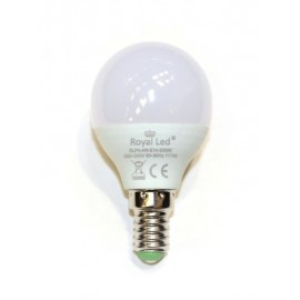 Lampara Ilumin Led Esferica E14 4W 400Lm 6400K