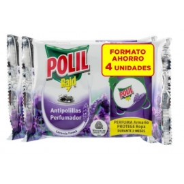 Antipolillas Lavanda Polilal Raid Gancho 4 Pz