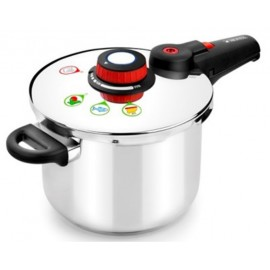 Olla Cocina Presion 4L Super Rapida Inox Selecta Monix