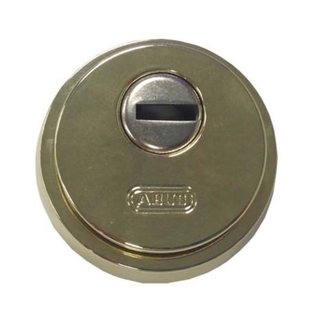 Escudo Cilindro Laton/Pulido Seguridad Abus