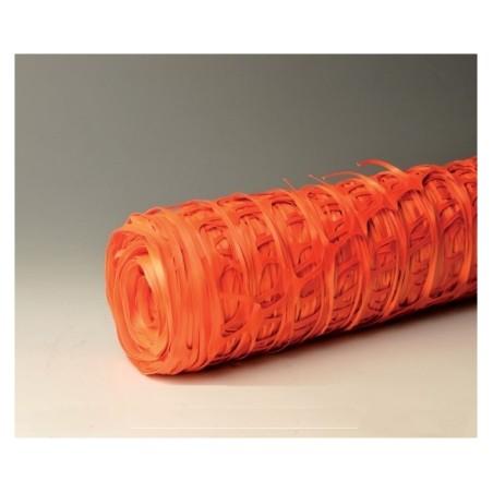Malla Señalizacion 1Mt 50Mt Plastico Naranja