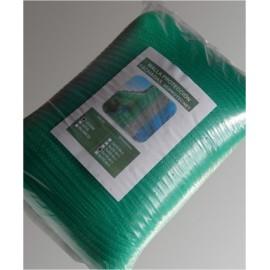 Malla Proteccion Fachada 3X20Mt Hdpe Verde Seimark