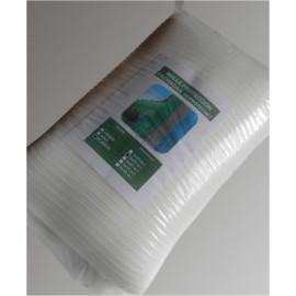 Malla Proteccion Fachada 3X20Mt Hdpe Blanco Seimark