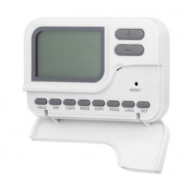 Cronotermostato Domotica  Programable Digital  Coati Blanco