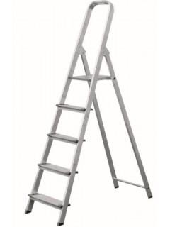 Escalera Domestica Tijera 1,58Mt 7 Peldaños Ancho  Aluminio  Vivahogar
