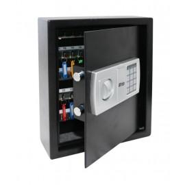 Armario Llavero Seguridad 360X300X100Mm Btv Acero Negro 48 Electr.