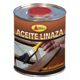 Aceite Linaza Protector 750 Ml Incoloro Con Secante Envase Metal Prom