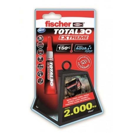 Adhesivo Instantaneo Flexible 5 Gr Gel UniversalTotal 30 Fischer