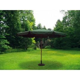 Parasol Jardin 3,5Mt  Aluminio Verde