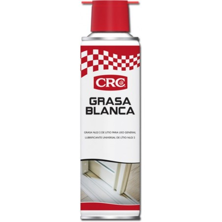 Grasa Lubricante Blanca Litio Con Ptfe Spray Crc 250 Ml