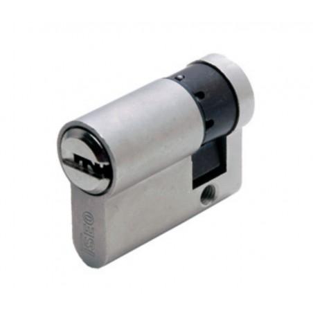 Cilindro Seguridad 30X10Mm R6 Niq Leva Larga Iseo