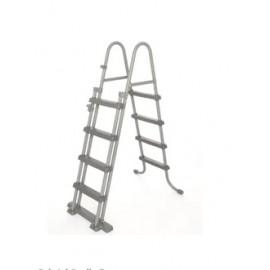 Escalera  Piscina 122Cm Peldaño Plastico Bestway