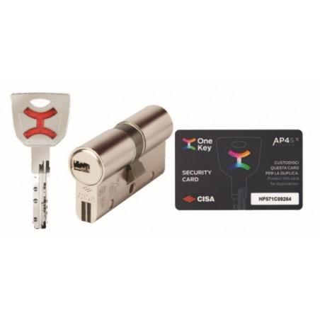 Cilindro Seguridad 30X50Mm Ap4 S Niq Cisa
