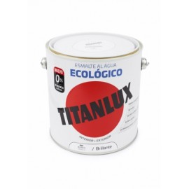 Esmalte Brillante 2,5 Lt Bl Al Agua Ecologico Titanlux