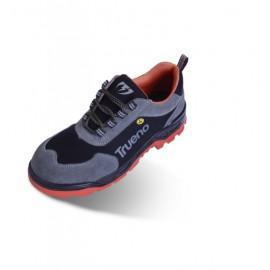 Zapato Seguridad T41 S1P-Src Esd Puentera y Plantilla no Metalica Rhino Serr/Cor