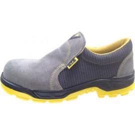 Zapato Seguridad T42 S1P-Src Pu/Pl No Met Running Piel Gr Nivel