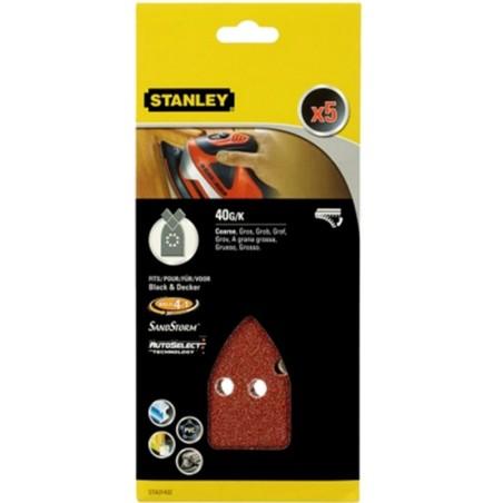 Hoja Lija Multilijadora Perforada Gr40 Stanley 5 Pz