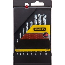 Broca Piedra 03-10Mm Stanley 8 Pz