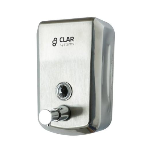 Dosificador Baño Jabon 175X115X57Mm Inox Sat-Br Inox Eco Cla