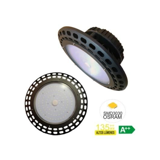 Campana Iluminacion 150W 20.250Lm Led Rsr Alu 5700K-Negro Smd3030