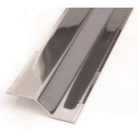 Pletina Perfilada 93X4Cm Distinto Nivel Adhesivo Inox