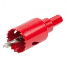 Corona Perforadora Adap Ø032Mm/40Mm Broca Pil. Bimetal Wolfcraft