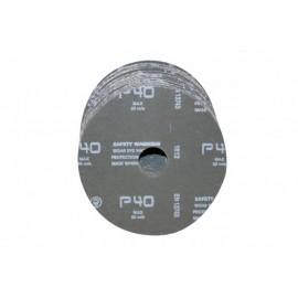Disco Lija Fibra Corindon 115X22 Mm Amoladora Grano 40 Bma