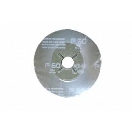 Disco Lija Nivel Fibra Corindon 115X22 Mm Amoladora Gr 60 Ma