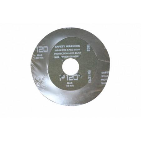 Disco Lija Nivel Fibra Corindon 115X22 Mm Amoladora Gr120 Ma