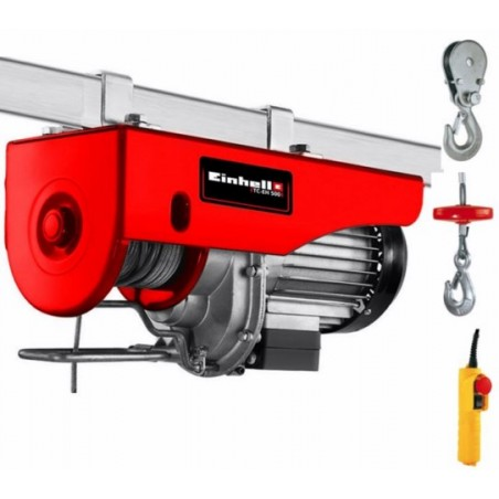 Polipasto Electrico 1000W 250-500Kg 11,5Mt  Tc-Eh 500 Einhell