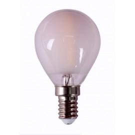 Lampara Iluminacion Led Esf. Filamento E14 4W 450Lm 4000K Mate Rs