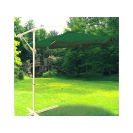 Parasol Jardin 3Mt Lateral Natuuur Aluminio Ver S/Faldon