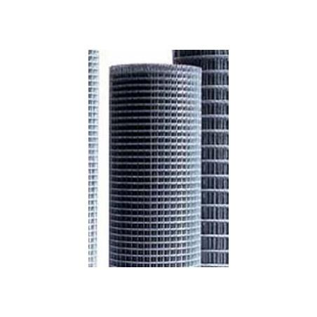 Malla Cercado Electrosoldada. 12,7X12,7X0,80 0,5X5M Acero Galv Nivel