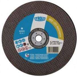 Disco Corte Inox 230X2X22 Mm A 30 Q- Bfb Basic* Tyrolit