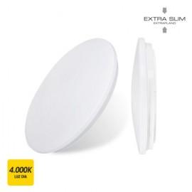 Plafon Circular 18W 1260Lm 4000K 33X6,6Cm Bl Sup. Led Extraplano
