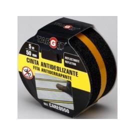 Cinta Antideslizante 50Mmx  5Mt Banda Reflectante Adhesiva. Neg Target