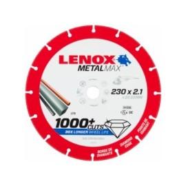 Disco Corte Segmentado 230X2,1X22,23 Diam Metalmax Lenox