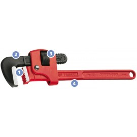 "Llave Stillson 36"" Super Ego"