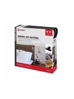 Cinta Adhesiva 5Mt Velcro Neg Ps20002 Vel-Ps20002